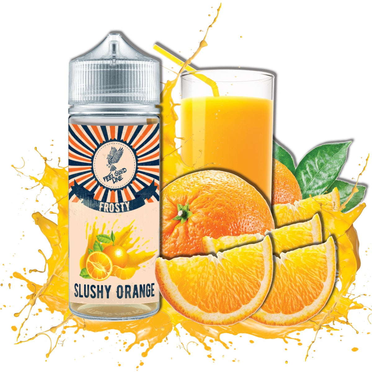 SLUSHY ORANGE Long Fill Aroma -  Vape Feeling