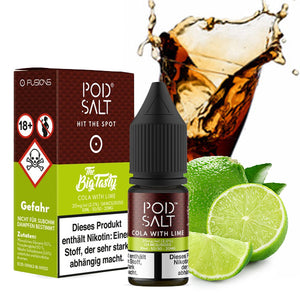POD SALT FUSION Cola with Lime 20 mg Nikotinsalz Liquid