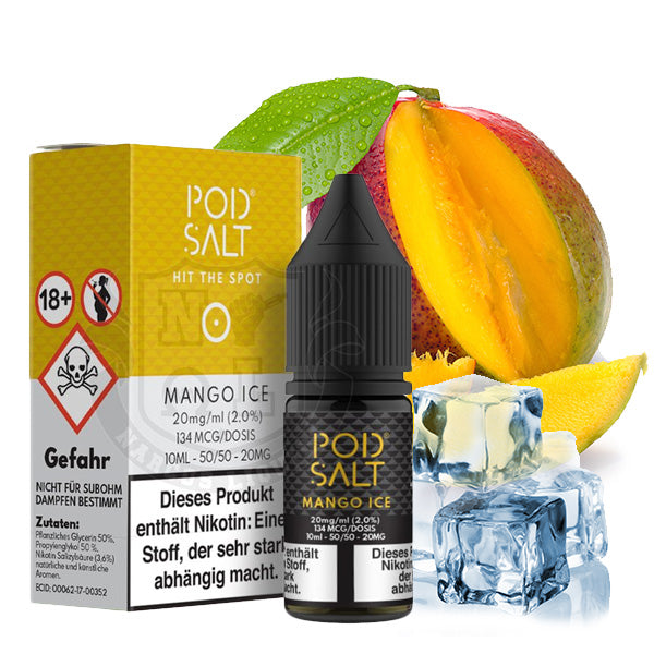 POD SALT Mango Ice 20 mg Nikotinsalz Liquid