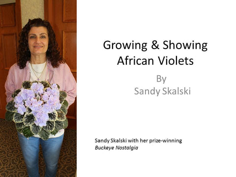 Webinar: Growing and Showing African Violets
