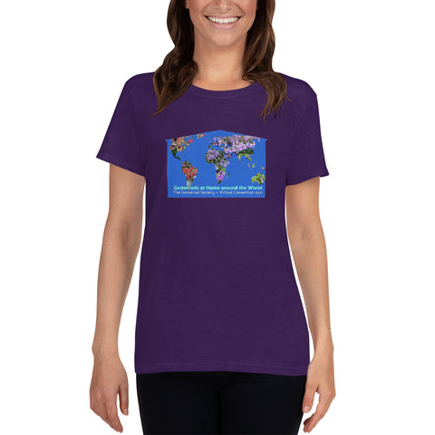 Virtual Convention 2021 Logo Women's short sleeve t-shirt