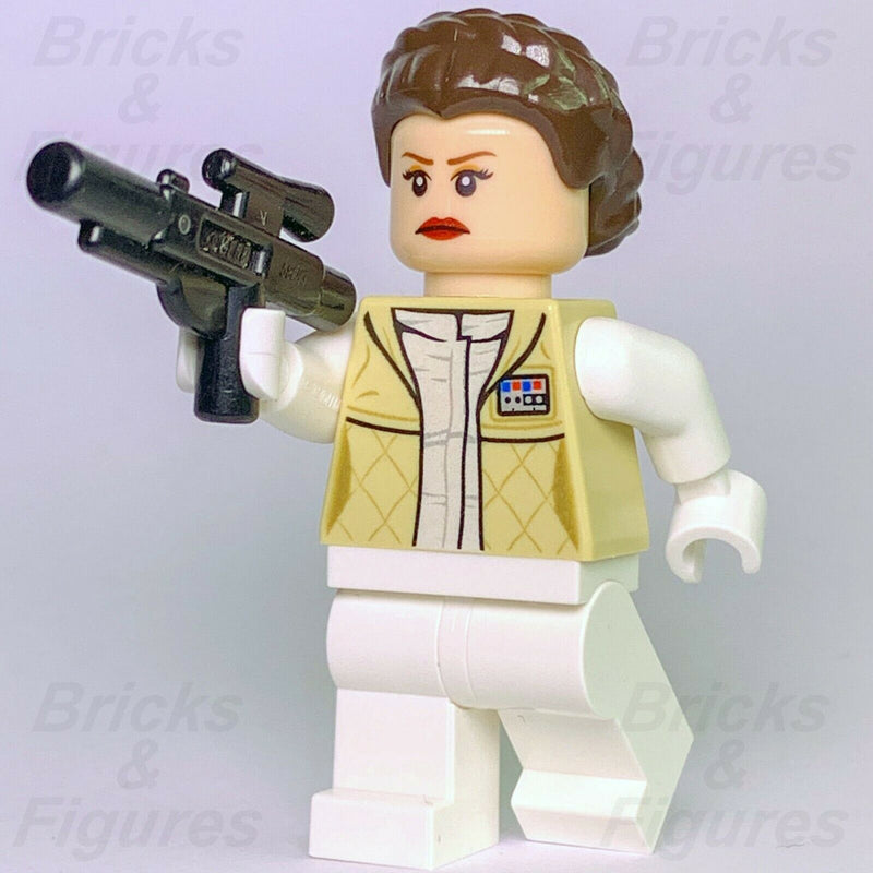 New Star Wars LEGO Princess Leia Hoth Outfit Rebel Alliance Minifigure 7879 - Bricks & Figures