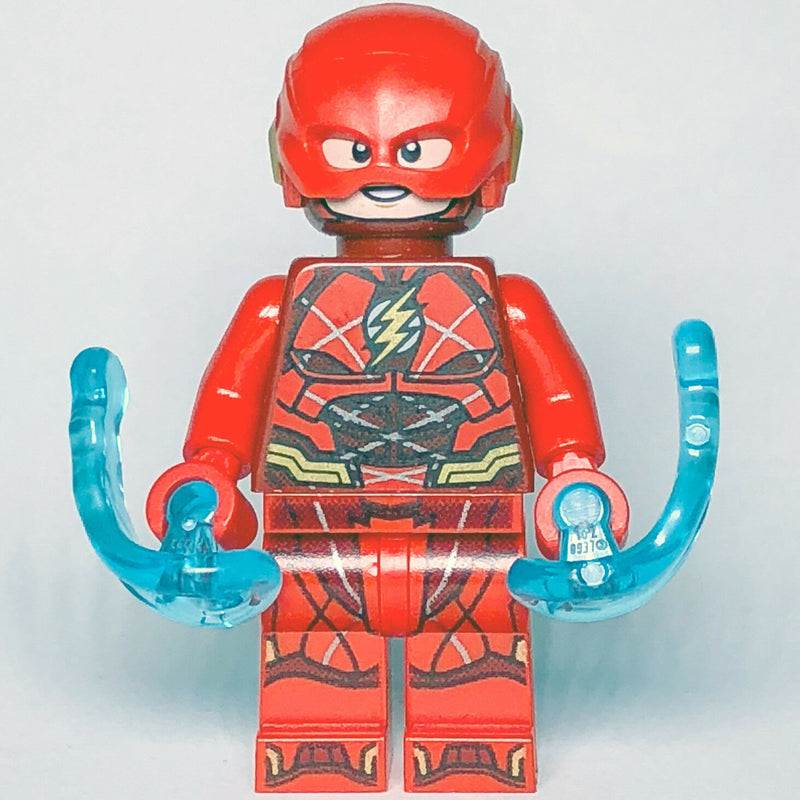 DC Super Heroes LEGO The Flash Justice League Minifigure from set 76086 - Bricks & Figures