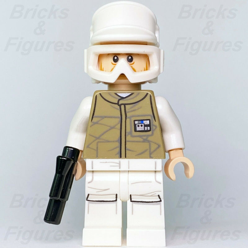 New Star Wars LEGO Hoth Rebel Trooper with Brown Beard Minifigure 75098