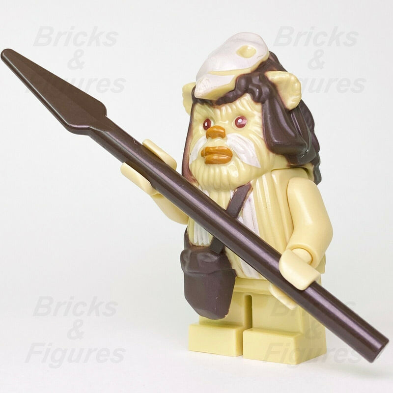 New Star Wars LEGO Logray Ewok Return of the Jedi Minifig 7956 10236 Genuine - Bricks & Figures