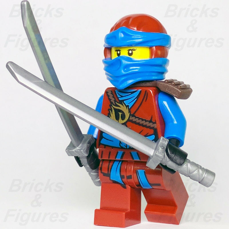 New Ninjago LEGO Nya Water Ninja Day of the Departed Minifigure 70596 Genuine - Bricks & Figures