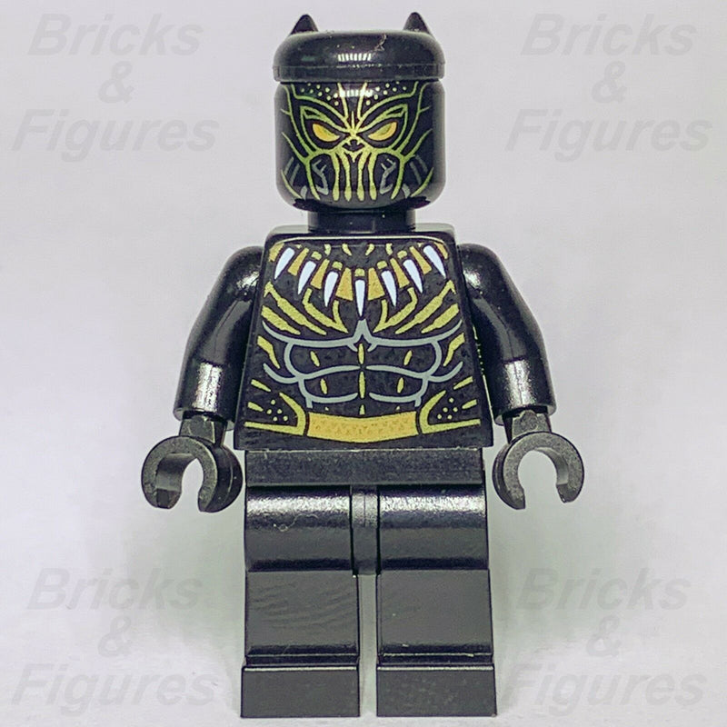 New Marvel Super Heroes LEGO Erik Killmonger Black Panther Minifigure 76099 - Bricks & Figures