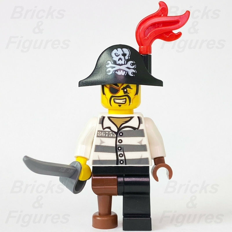 New Ninjago LEGO Captain Soto Pirate Prison Outfit Skybound Minifigure 70591