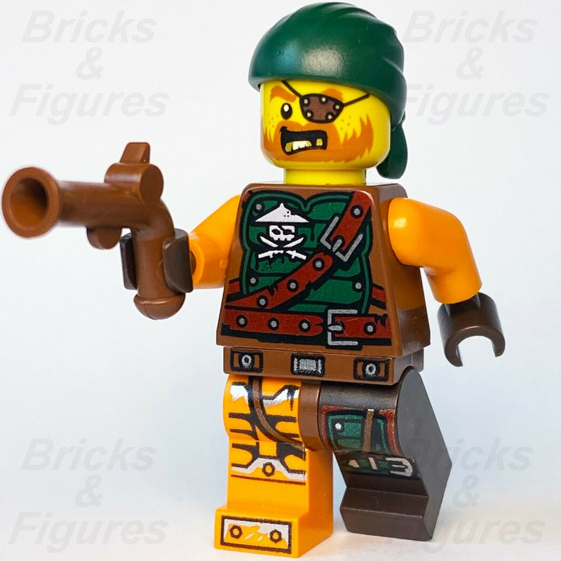 Ninjago LEGO Bucko Pirate with Gun Skybound Minifigure 70599 70605 70593 30421