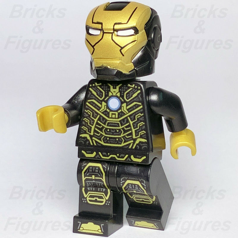 New Marvel Super Heroes LEGO Iron Man Mark 41 Minifigure 76125 Avengers Endgame - Bricks & Figures