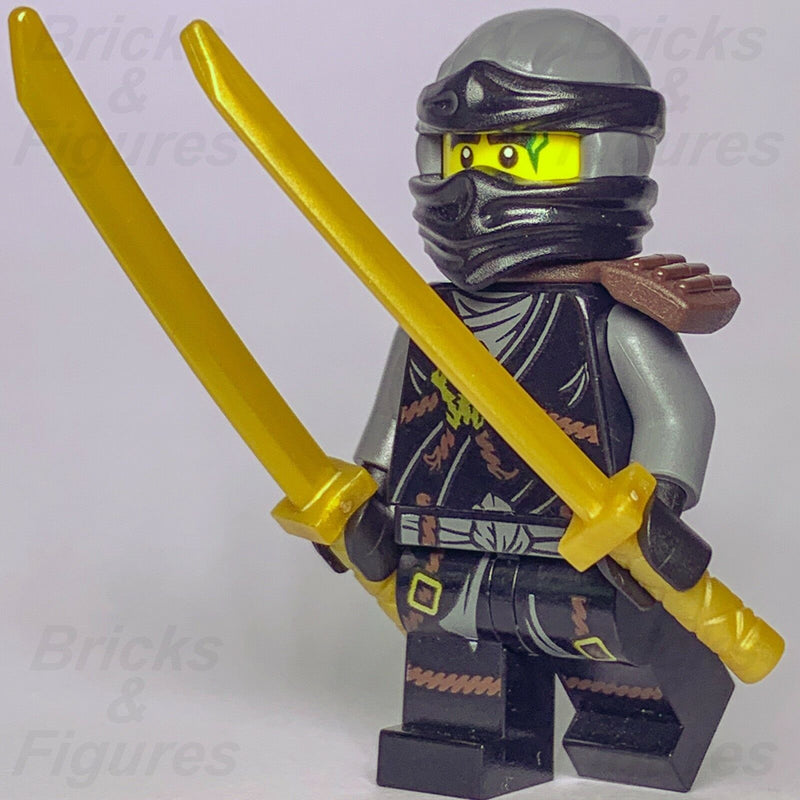 New Ninjago LEGO Cole Earth Ninja Day of the Departed Minifigure 70595 - Bricks & Figures