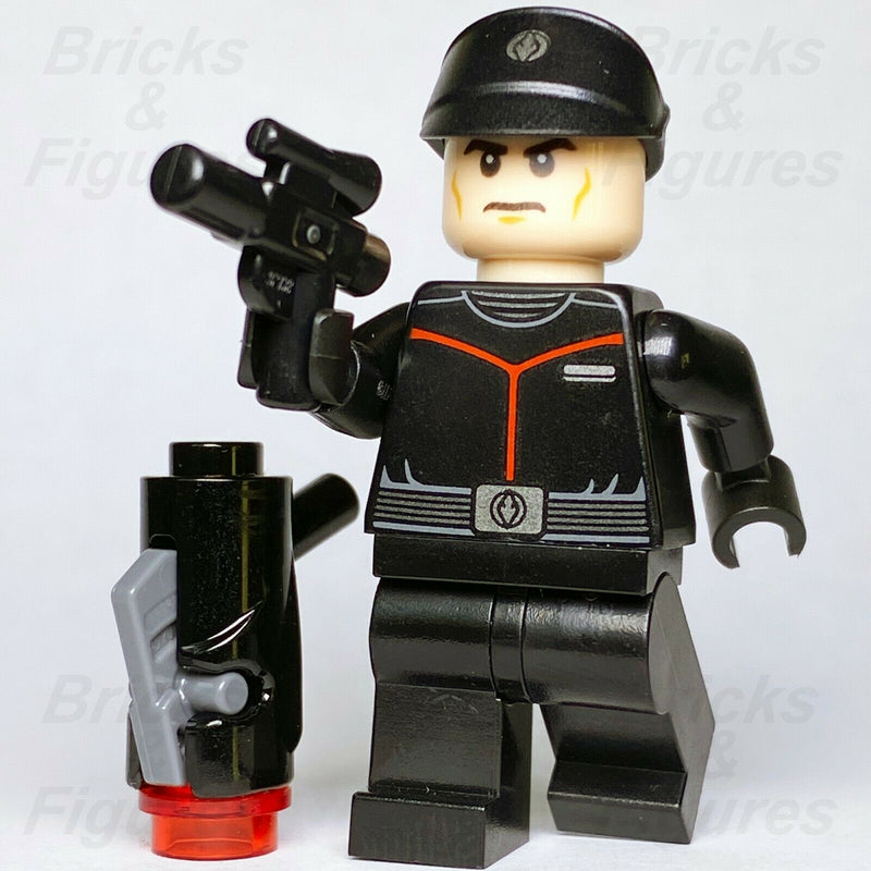 Star Wars LEGO Sith Fleet Officer Final Order Rise of Skywalker Minifig 75266 - Bricks & Figures