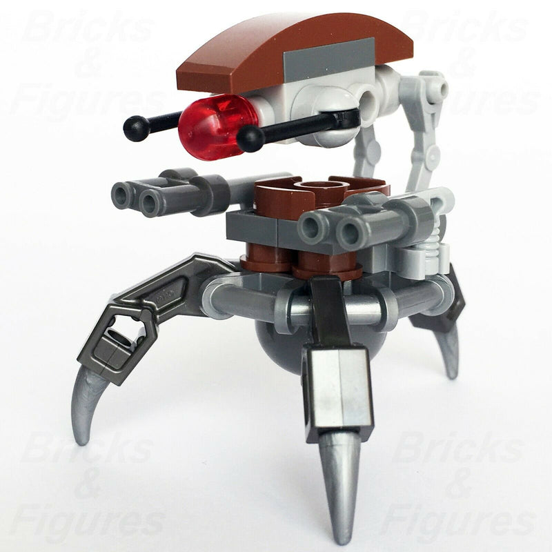 New Star Wars LEGO Droideka Separatist Droid Clone Wars Minifigure 75000 - Bricks & Figures