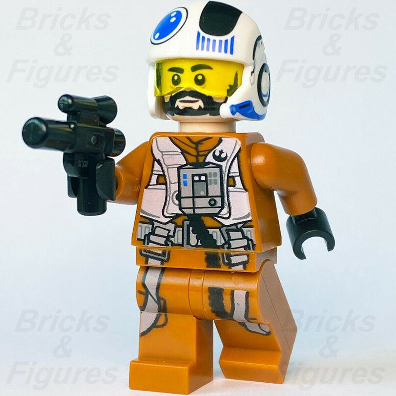 Star Wars LEGO Temmin 'Snap' Wexley Resistance A-Wing Pilot Minifigure 75248