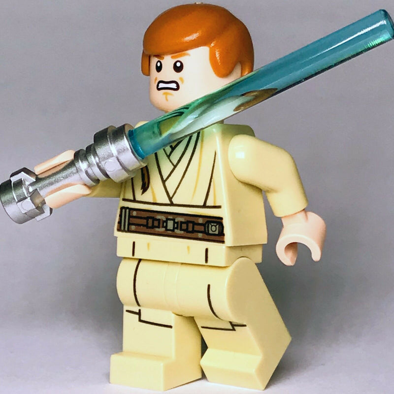 New Star Wars LEGO Obi-wan Kenobi Jedi Padawan Phantom Menace Minifigure 75169 - Bricks & Figures