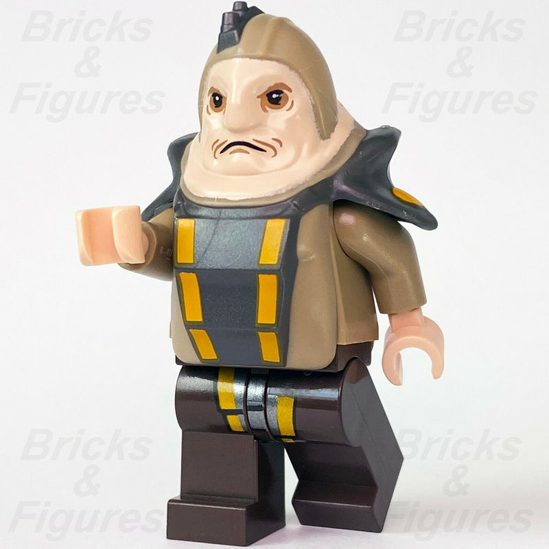 "New Star Wars LEGO Unkar Plutt ""Blobfish"" The Force Awakens Minifigure 75148"