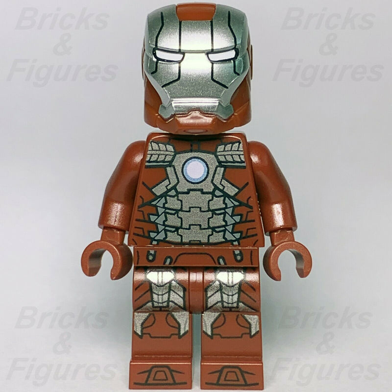 New Marvel Super Heroes LEGO Iron Man Mark 5 Minifigure 76125 Avengers Endgame - Bricks & Figures