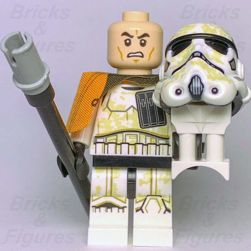 New Star Wars LEGO Imperial Sandtrooper Captain Trooper Minifigure from 75228 - Bricks & Figures