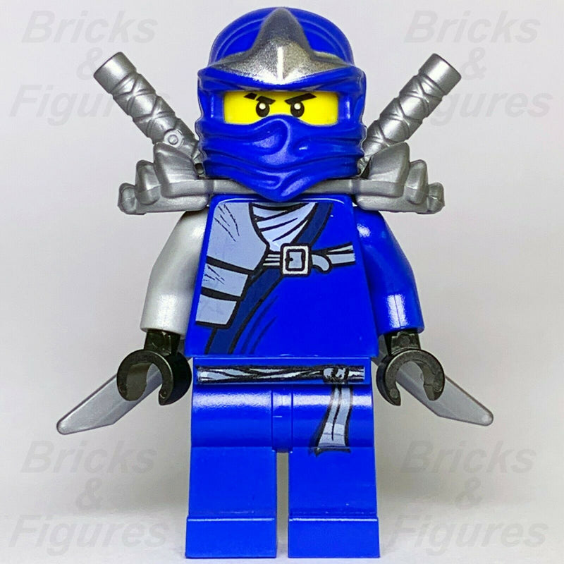 Ninjago LEGO Jay ZX Blue Ninja with Armor Minifig 9450 9445 9553 9449 Genuine - Bricks & Figures