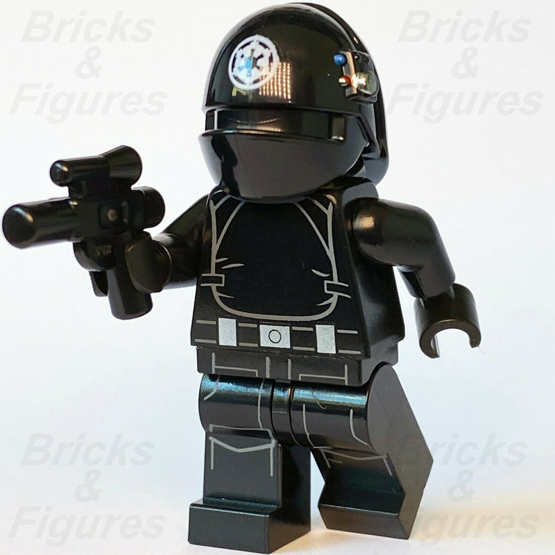 New Star Wars LEGO Imperial Gunner White Logo on Helmet Minifigure 75245 75246