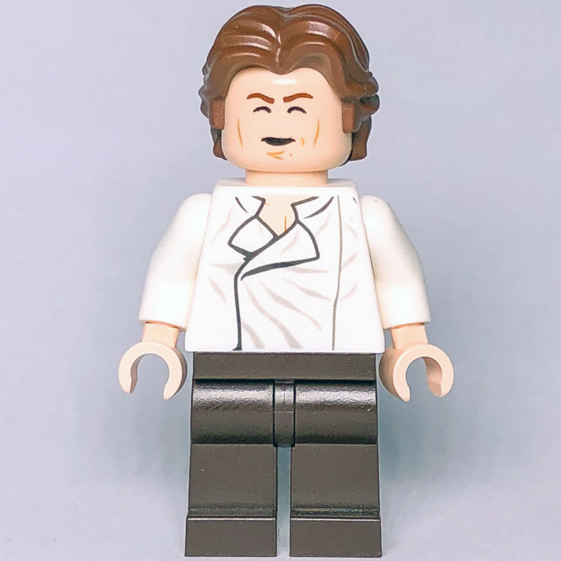 New Star Wars LEGO Han Solo Rebel Alliance Carbonite Outfit Minifigure 75174 - Bricks & Figures