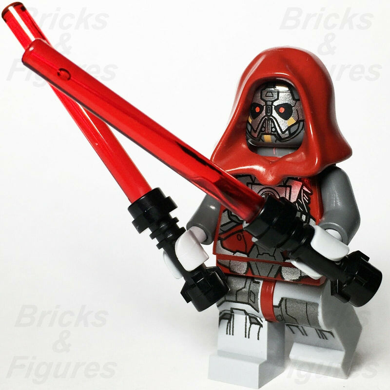 New Star Wars LEGO Sith Warrior Lord The Old Republic Minifigure 75025 - Bricks & Figures