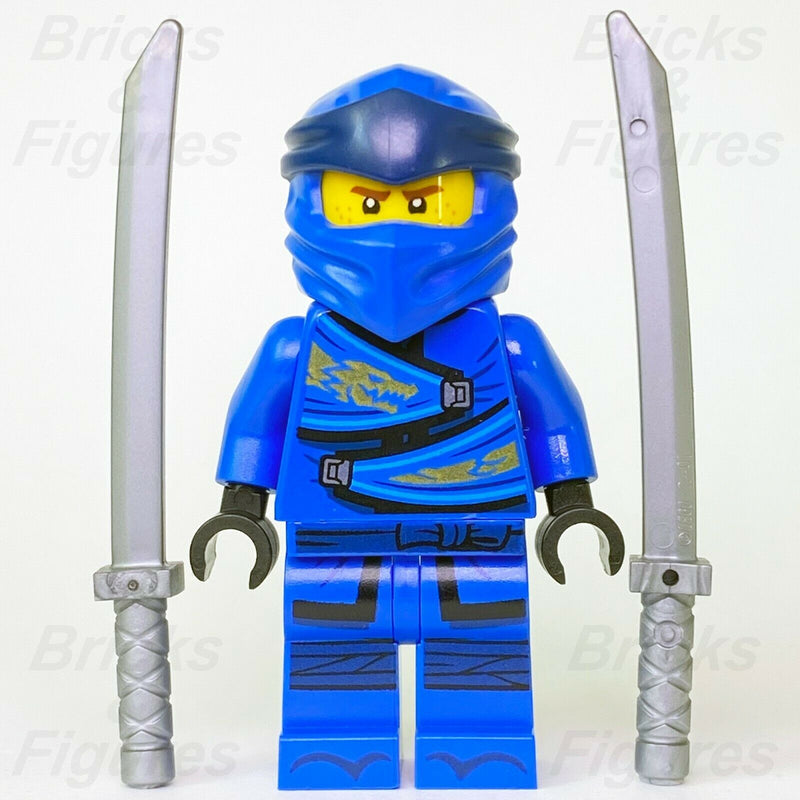 New Ninjago LEGO Jay Legacy Blue Ninja Minifigure 70668 70670 70660 Genuine - Bricks & Figures