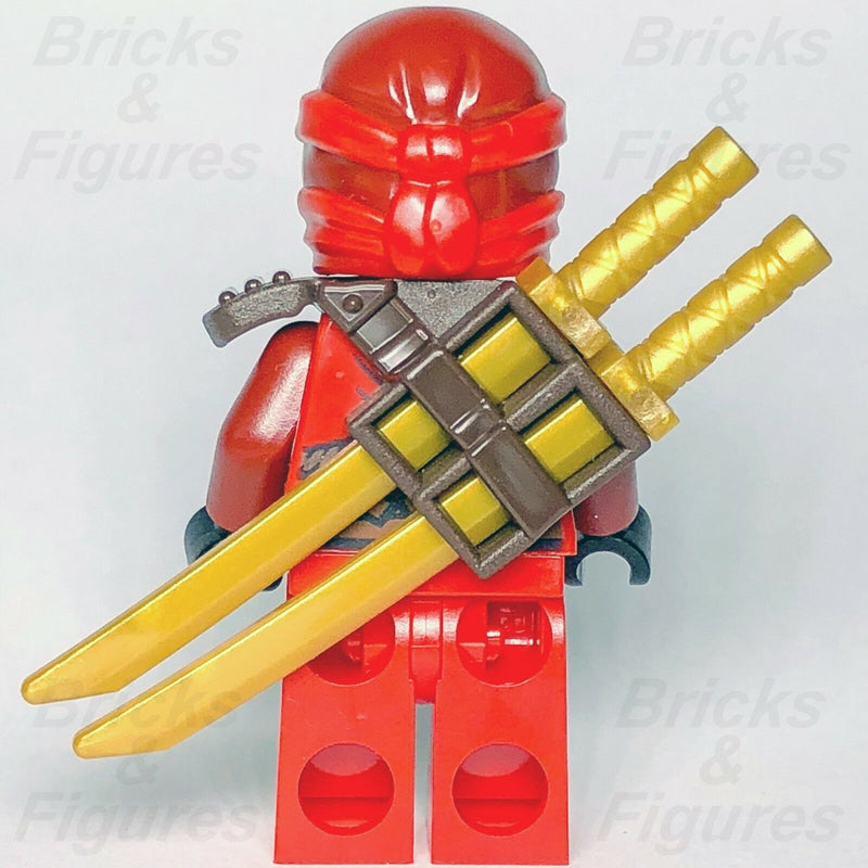 New Ninjago LEGO Kai Red Fire Ninja Master Day of Departed Minifigure 70595 - Bricks & Figures