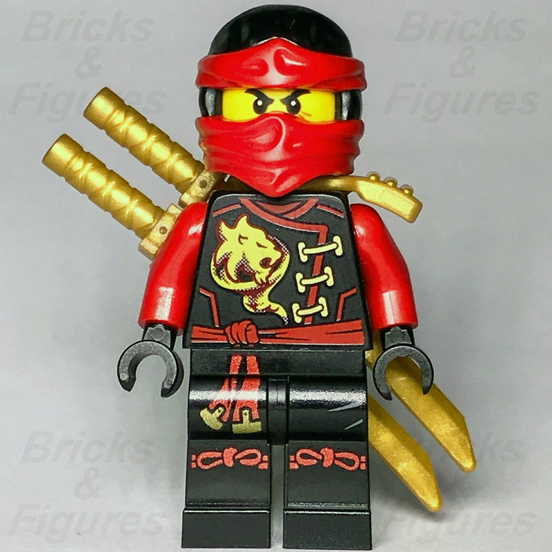New Ninjago LEGO Kai Red Fire Ninja Master Skybound Minifigure 70591 70605 - Bricks & Figures