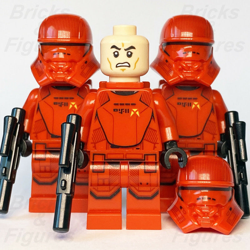 3 x New Star Wars LEGO Sith Jet Trooper Final Order Minifigure from set 75266