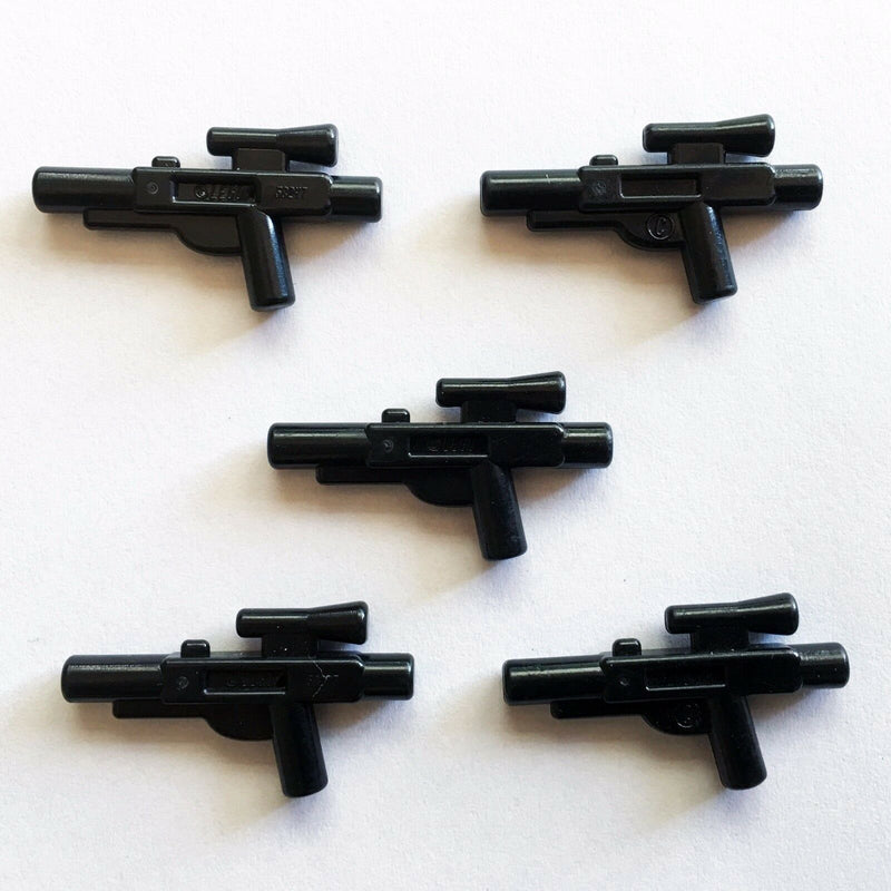 5 x STAR WARS lego BLASTER GUN MEDIUM five battle minifig weapons clone wars NEW - Bricks & Figures