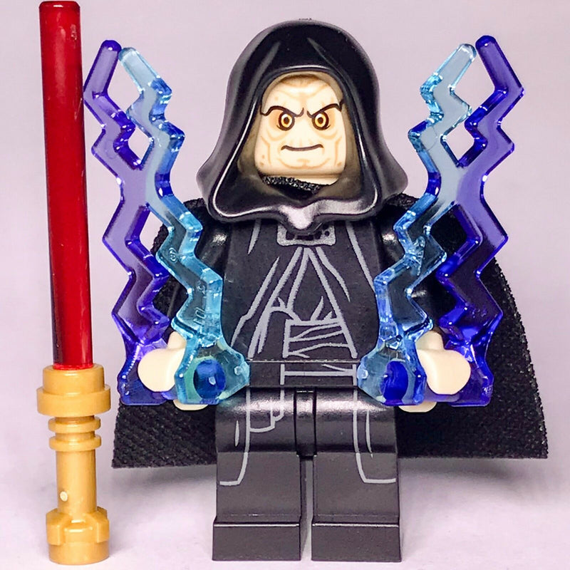 STAR WARS real lego EMPEROR PALPATINE DARTH SIDIOUS sith lord 75183 75159 75185 - Bricks & Figures