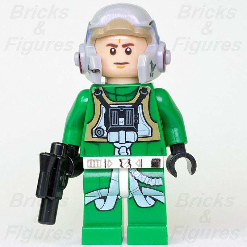 New Star Wars LEGO Rebel A-Wing Pilot Fighter Minifigure 75175 75247 Genuine - Bricks & Figures