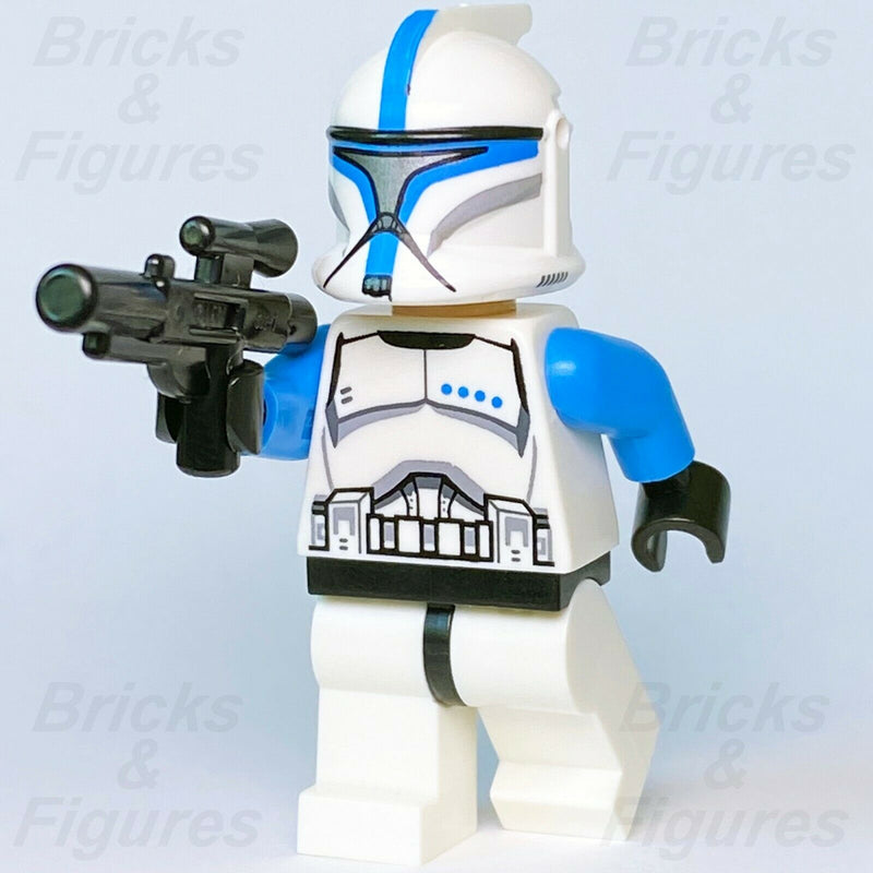 New Star Wars LEGO Blue Phase 1 Clone Trooper Lieutenant Minifigure 5001709