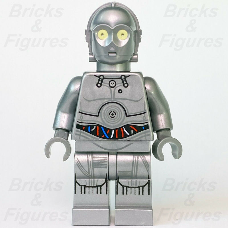 New Star Wars LEGO U-3PO Silver Protocol Droid A New Hope Minifigure 75146