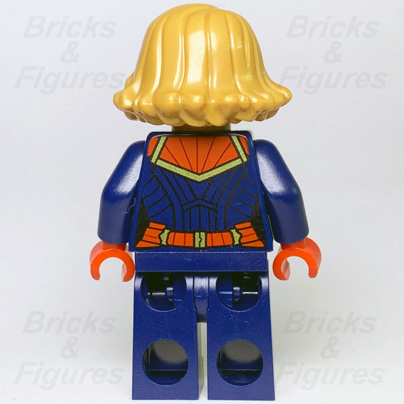 New Super Heroes LEGO Captain Marvel Minifigure Avengers Endgame 76131 76127 - Bricks & Figures