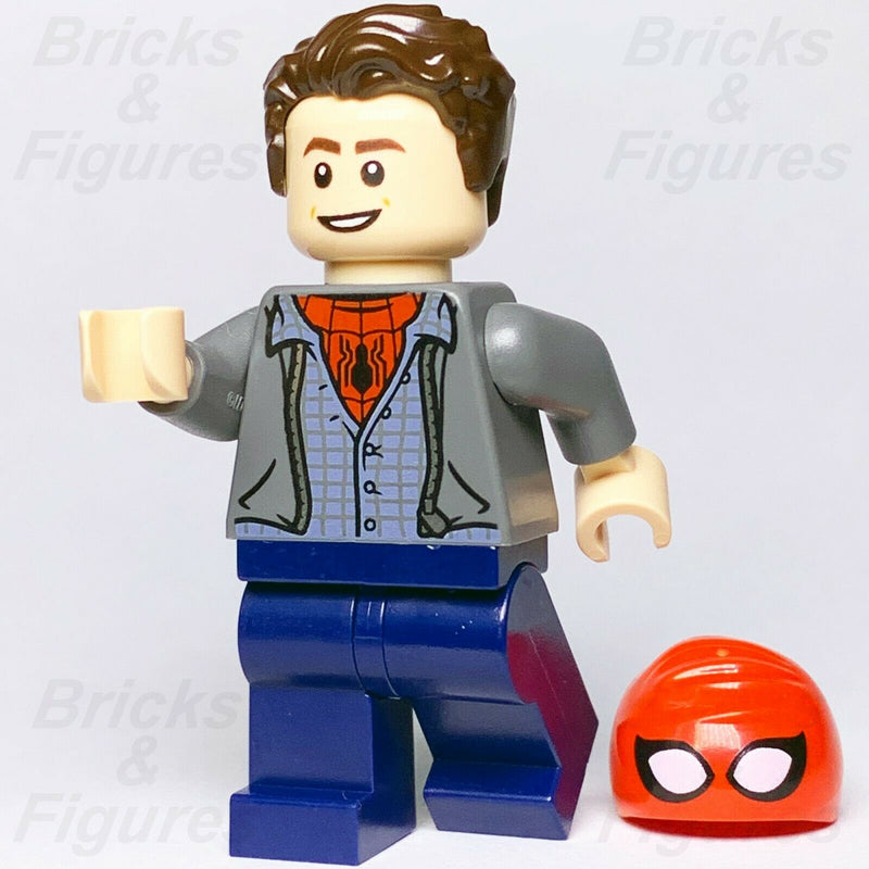 Marvel Super Heroes LEGO Spider-Man Peter Parker Far From Home Minifigure 76129 - Bricks & Figures