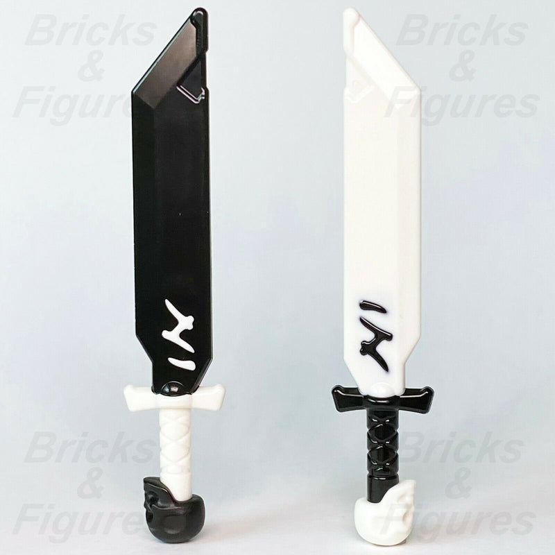 Ninjago LEGO Ivory & Shadow Blade of Deliverance Weapon Part 71721 71720 71722