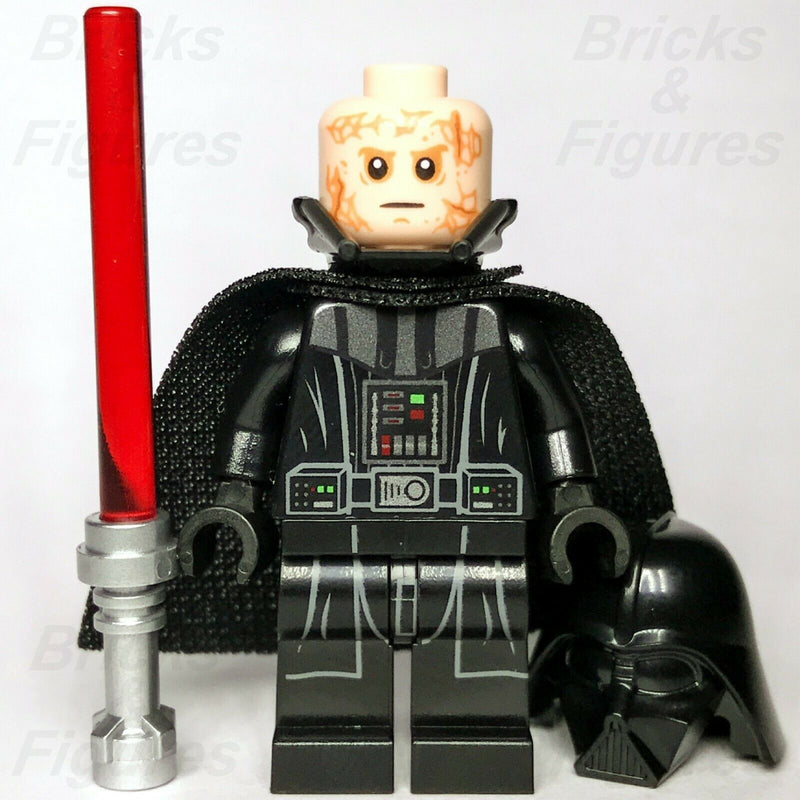 New Star Wars LEGO Darth Vader Sith Lord Transformation Minifigure 75183 - Bricks & Figures