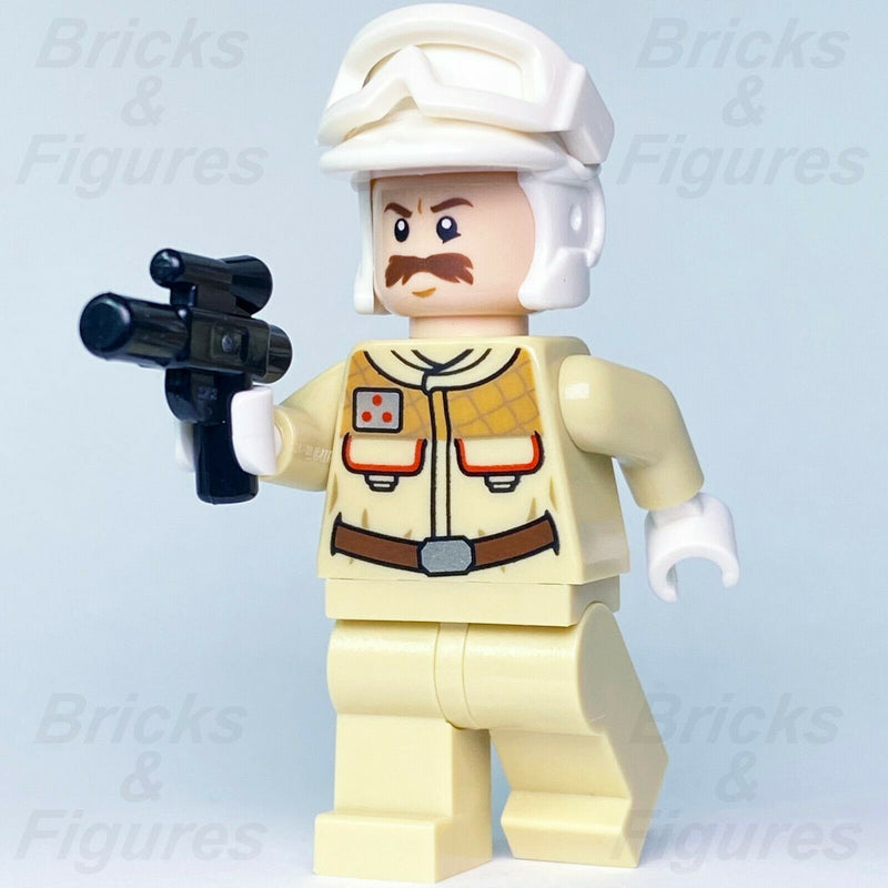 New Star Wars LEGO Hoth Rebel Officer Trooper TESB Minifigure 75098