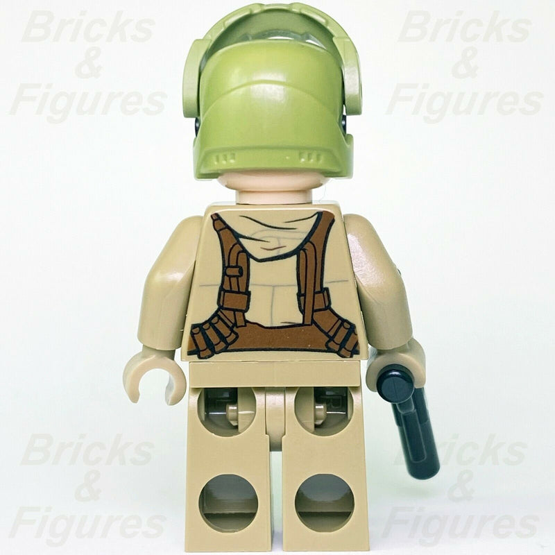 New Star Wars LEGO Resistance Trooper with Beard The Last Jedi Minifigure 75189