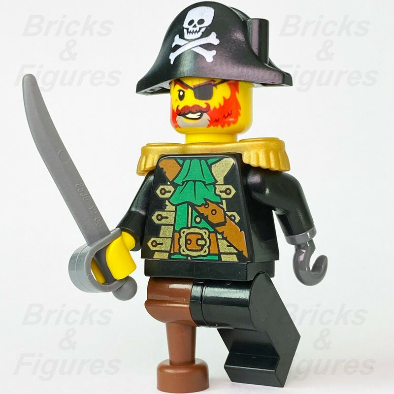 New Ideas LEGO Captain Redbeard Pirates Minifgure with Sword from set 21322