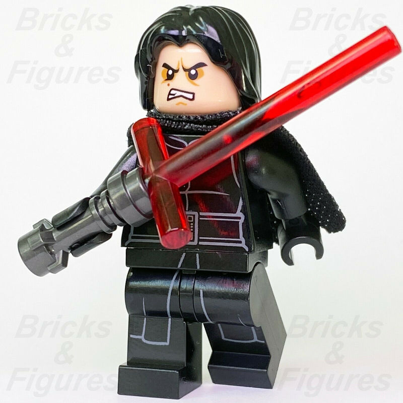 New Star Wars LEGO Kylo Ren First Order Force Awakens Sith Minifigure 75139 - Bricks & Figures