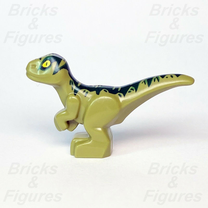 New Jurassic World LEGO® Baby Raptor with Dark Green Markings Dinosaur 75938