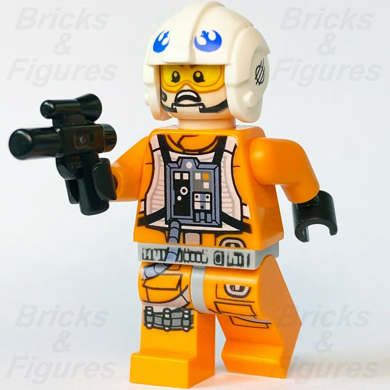 New Star Wars LEGO Zin Evalon Rebel Alliance Fighter Pilot Minifigure 11912