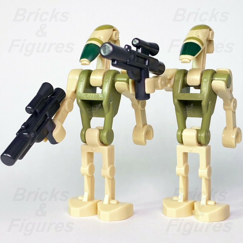 2 x Star Wars LEGO Kashyyyk Battle Droid Minifigure from sets 75234 75233 75283