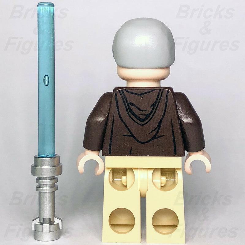 New Star Wars LEGO Obi-wan Ben Kenobi Jedi Master Minifigure 75159 75052 75173 - Bricks & Figures