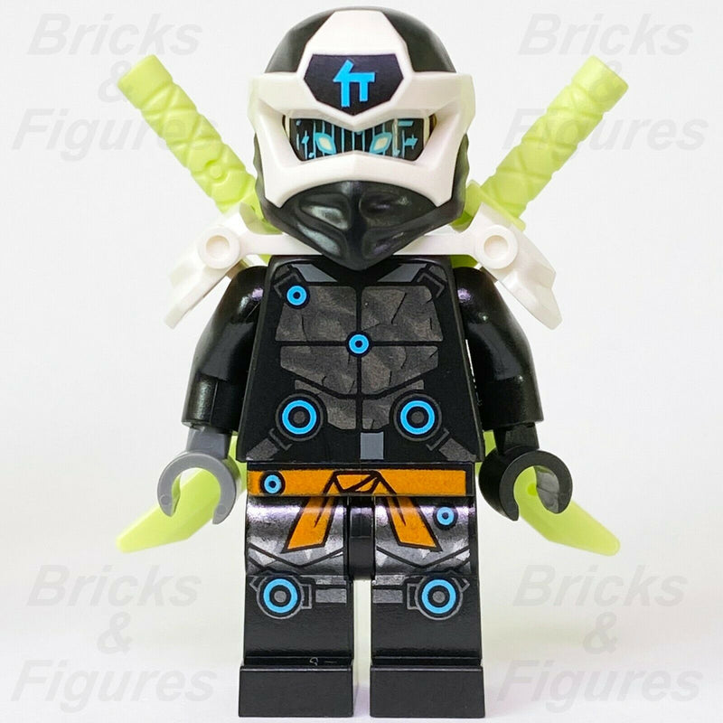Ninjago LEGO Digi Cole Black Ninja with Scabbard Prime Empire Minifigure 71712 - Bricks & Figures