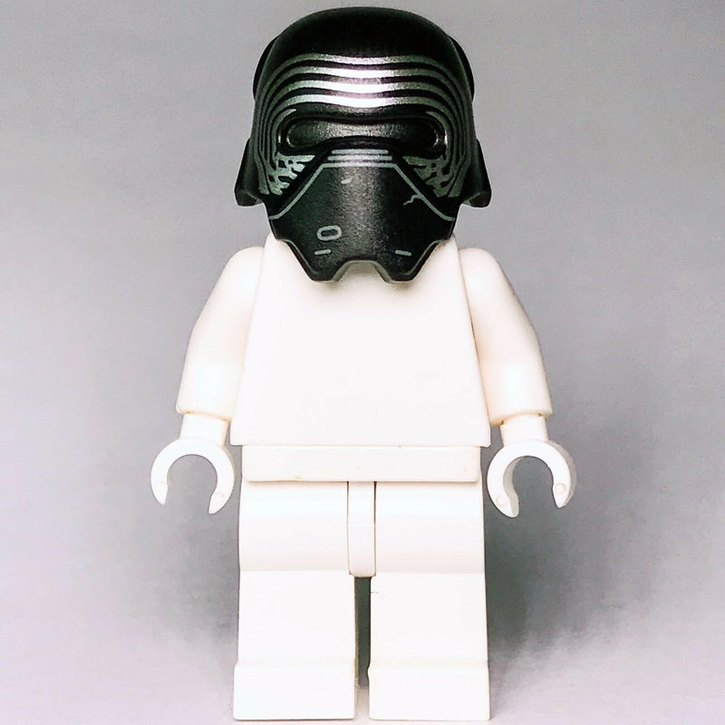 Star Wars LEGO Kylo Ren's First Order Sith Pattern Helmet headgear 75139 75104 - Bricks & Figures