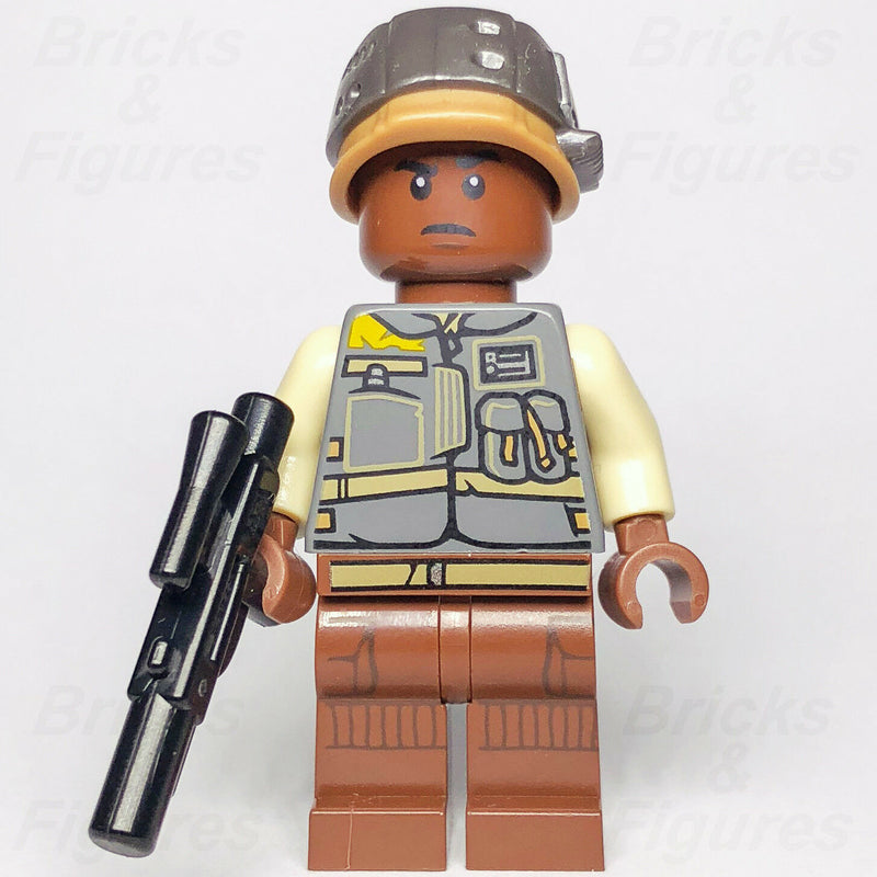 New Star Wars LEGO Lieutenant Sefla Rebel Trooper Rogue One Minifigure 75153 - Bricks & Figures